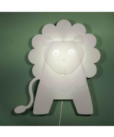 Løve væglampe