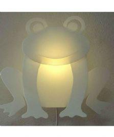 Frø væglampe
